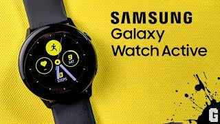 Samsung Galaxy Watch Active : Unboxing & First Impressions