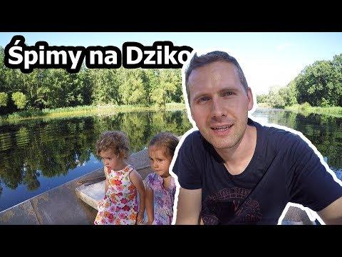 """Śpimy """"Na Dziko"""" w Przyczepie - Dolina Baryczy, Stawy Milickie (Vlog #91)"""