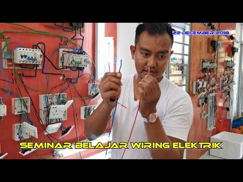 DIY ELECTRIC - How To Wiring LED Lamp