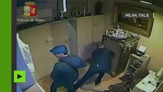 Braquage de bijouterie à Milan : la police diffuse les images choc de la vidéosurveillance (VIDEO)