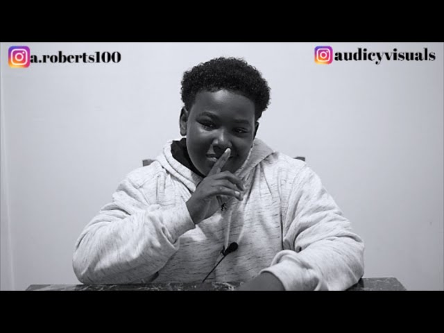 Audicy Visuals Interviews 14 Yr Old Artist From Lompoc Aemarhie Roberts
