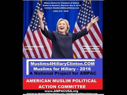 Muslim American for Hillary Clinton' 2016 Election: AMPAC National Conference Call on 11-4-2016