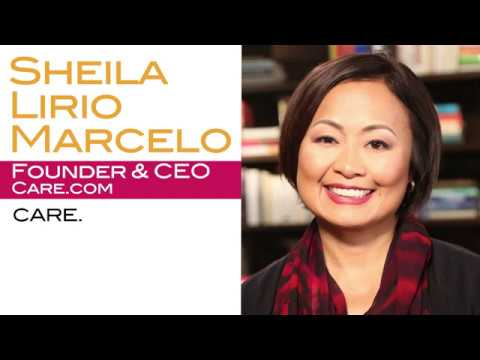 Why Care.com's Sheila Lirio Marcelo Encourages