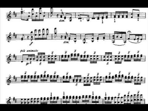 Carmen Fantasy  -  Sarasate (1°Parte)  (www.sheetmusic-violin.blogspot.com)