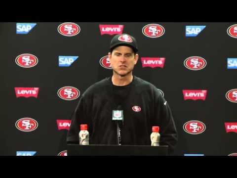 Jim Harbaugh's Final Postgame Press Conference - 49ers Vs Cardinals