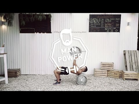 Powerlifting Beer Keg Workout: Bench Press, Overhead Squats, Snatch