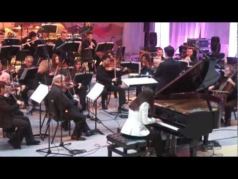 Tomer Adaddi - Piano Concerto no 1- 2nd movement- Israeli Chamber Orchestra