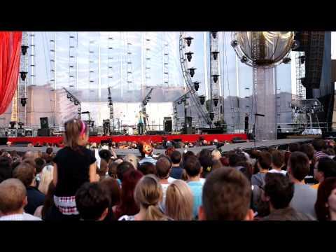 Intro  - Prata Vetra (Brainstorm) LIVE in Riga, August 17, 2012