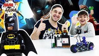 Папа Роб и Ярик собирают набор LEGO BATMAN MOVIE СБОРНИК