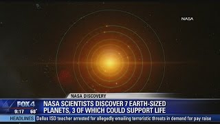 NASA Scientists Discover 7 New Earth-Sized Planets