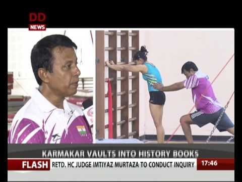 DD News interacts with coach of Gymnast Dipa Karmakar