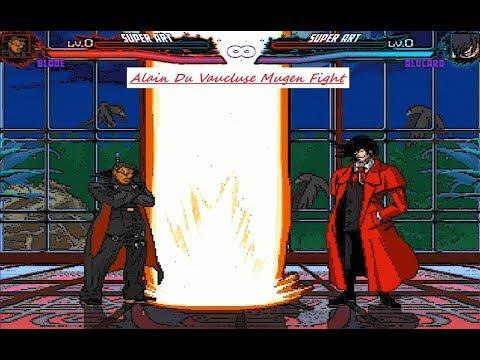 Mugen : Blade (Marvel) Vs Alucard (Hellsing) (Request)