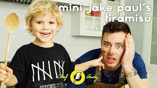 DISASTER with Mini Jake Paul! // Chef Andy