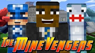 Minecraft MineVengers - VISITING THE WHITE HOUSE!