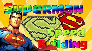 [FUN] Superbe village Superman - Speed Building - Clash Of Clans