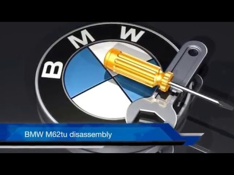 Part 1 of 2 BMW M62 M62tu Timing Chain Guide Replacement and Complete Timing Procedure 540i 740i X5