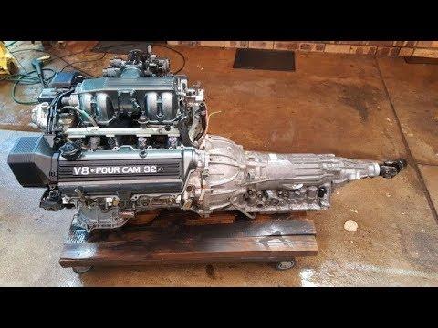 Isuzu Trooper Transmission Bolted To UZFE Lexus 4.0 V8