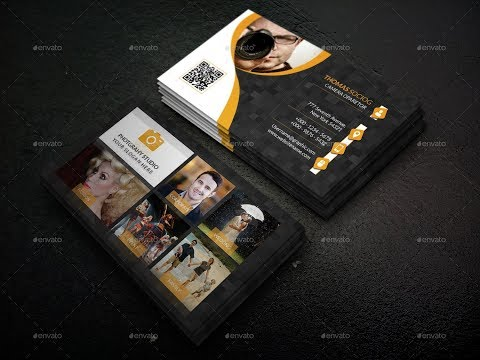 How to Design Professional Business Card OR Visiting Card in Illustrator