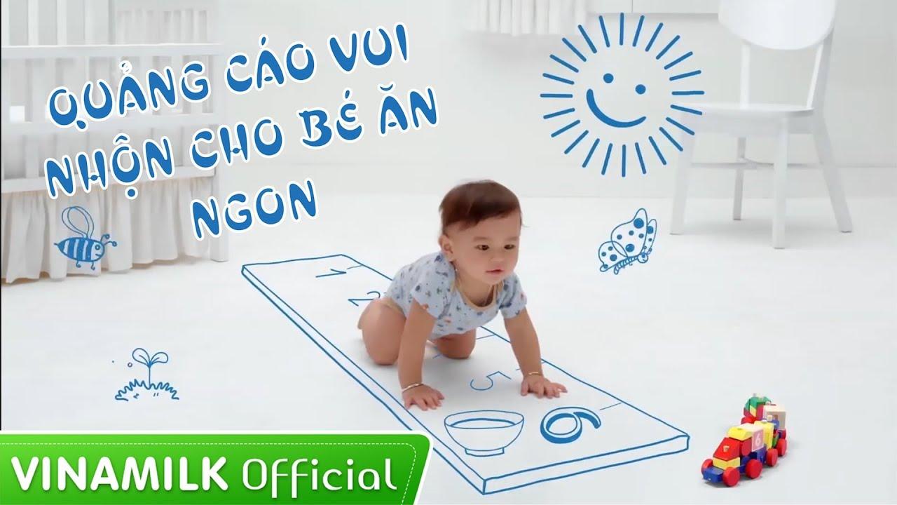 Quảng Cáo Vinamilk – Nhạc quảng cáo Vinamilk hay cho trẻ biếng ăn