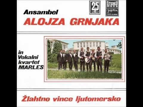 Ansambel Alojza Grnjaka - Žlahtno Vince Ljutomersko