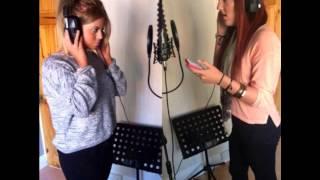 Jessica Hynes & Brooke Bailey - Titanium Acoustic Cover