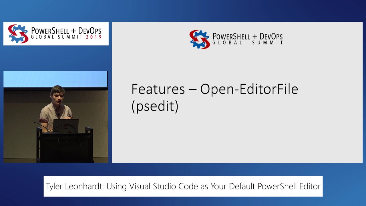 Using Visual Studio Code as Your Default PowerShell Editor by Tyler  Leonhardt