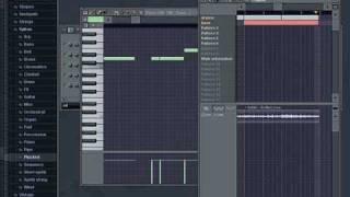 Создаем инструментал в FL Studio (видео на русском) часть 2