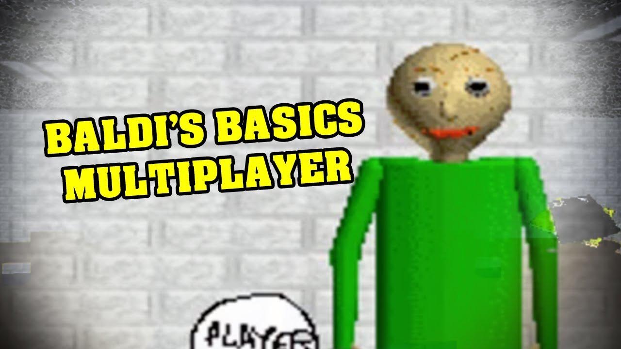 BALDI'S BASICS 2D MULTIPLAYER - Make Extra Money From Home