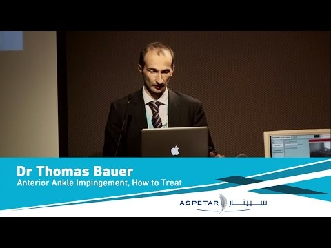 Anterior Ankle Impingement, How To Treat By Dr Thomas Bauer