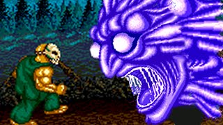 Splatterhouse 2 (Genesis) All Bosses (No Damage)