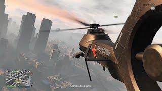 ROBAMOS SUPER HELICOPTERO AKULA - GTA V