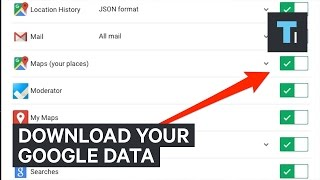 How to download all of your Google data