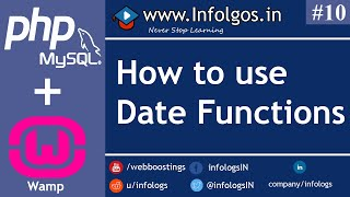 PHP - Date function in PHP - Tutorial 10