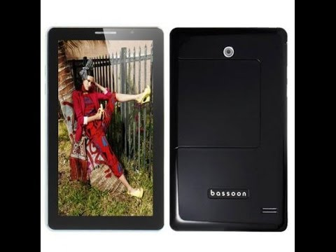 "Bassoon P1000 7"" tablet phablet phone Dual sim MTK 6515 MTK 6572 review"