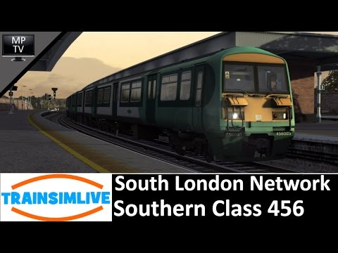 MattPlaysTV - Train Simulator - South London Network, Class 456 EMU