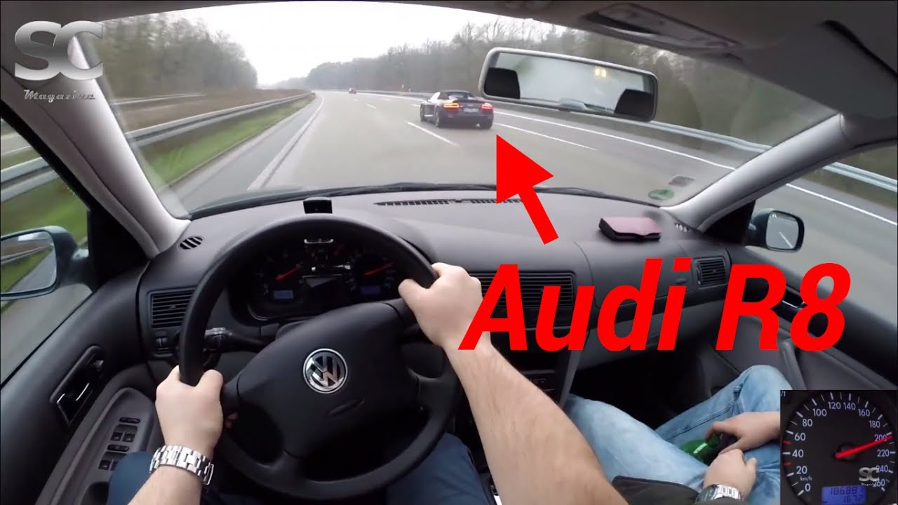 vw golf 4 variant 1 9 tdi 2001 on german autobahn pov top speed drive youtube. Black Bedroom Furniture Sets. Home Design Ideas