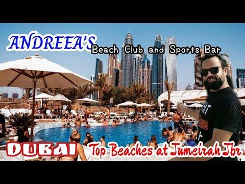 Andreea's Beach Club & Sports Bar Jumeirah Dubai 2020