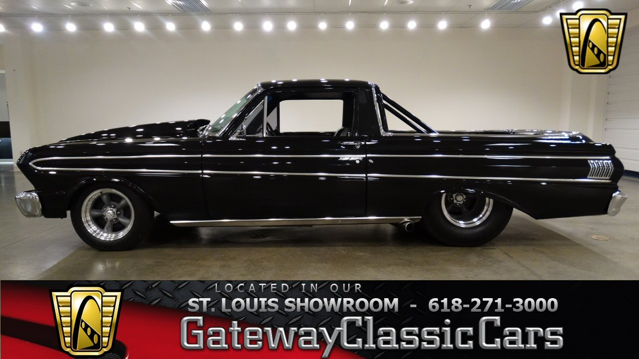6888 1965 ford ranchero gateway classic cars st louis youtube