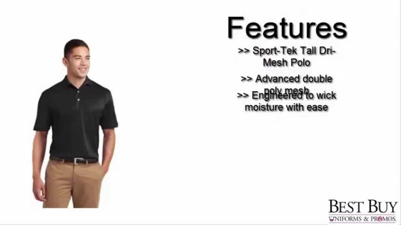 Sport Tek Dri Mesh Polo Youtube