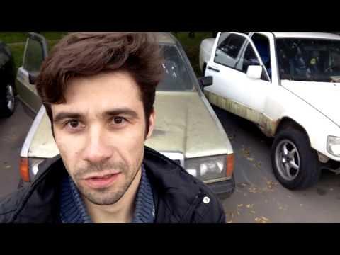 Тачка за 10.000 рублей. Обзор Mercedes 190 w201 на запчасти