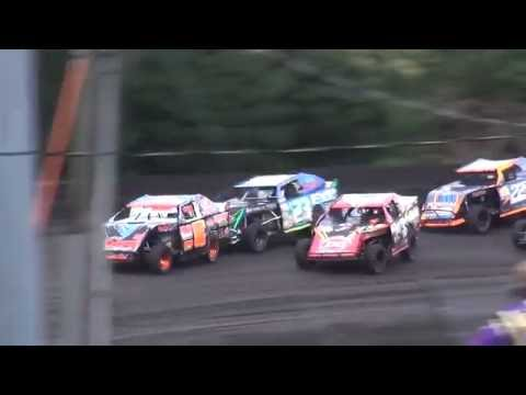 IMCA Sport Mod feature Benton County Speedway 8/28/16