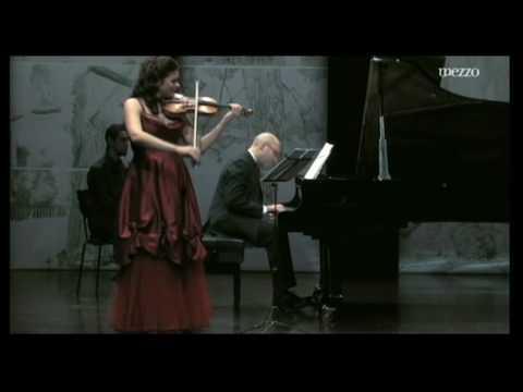 Mendelssohn Violin Sonata 1 mvt - Tatiana Samouil, Filipe Pinto-Ribeiro