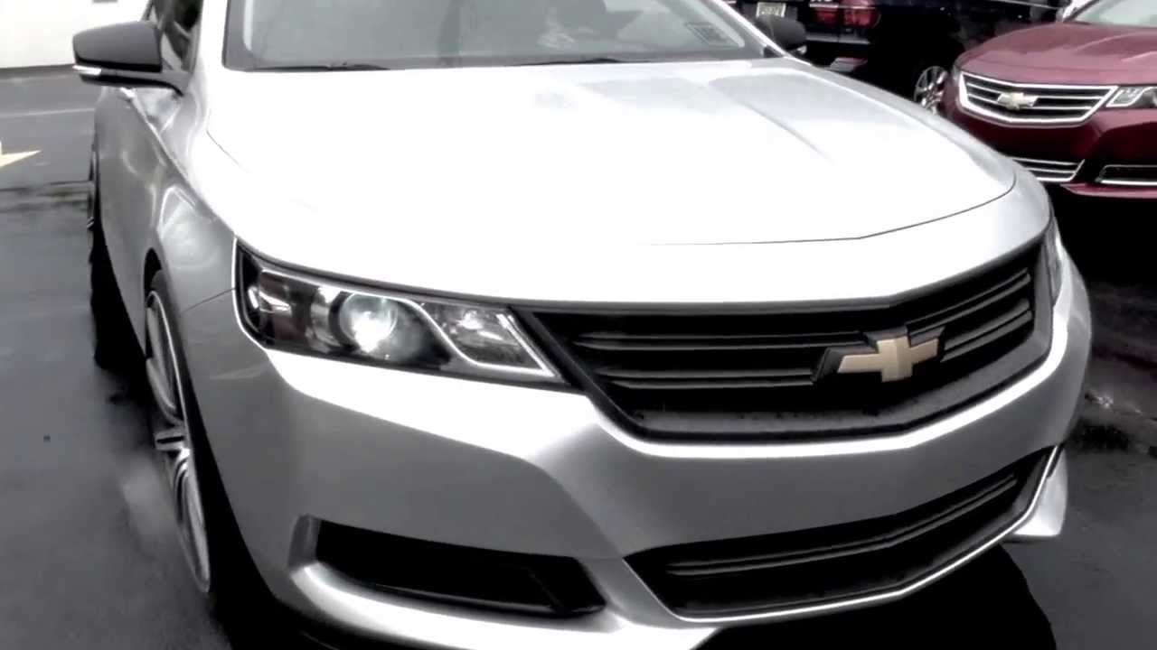 2014 Chevy Impala modified by DerickG.com - YouTube