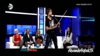 Alexander Rybak, KanalD, Cinemania (16.03.2013)