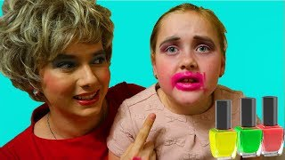 Stacy dresses up to be the most Stylish and wants to be beautiful, dress up and make up!