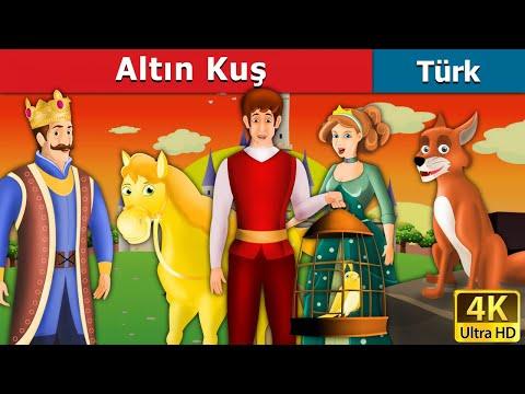 Altın Kuş | The Golden Bird in Turkish | çoçuk masalları dinle | Türkçe peri masallar