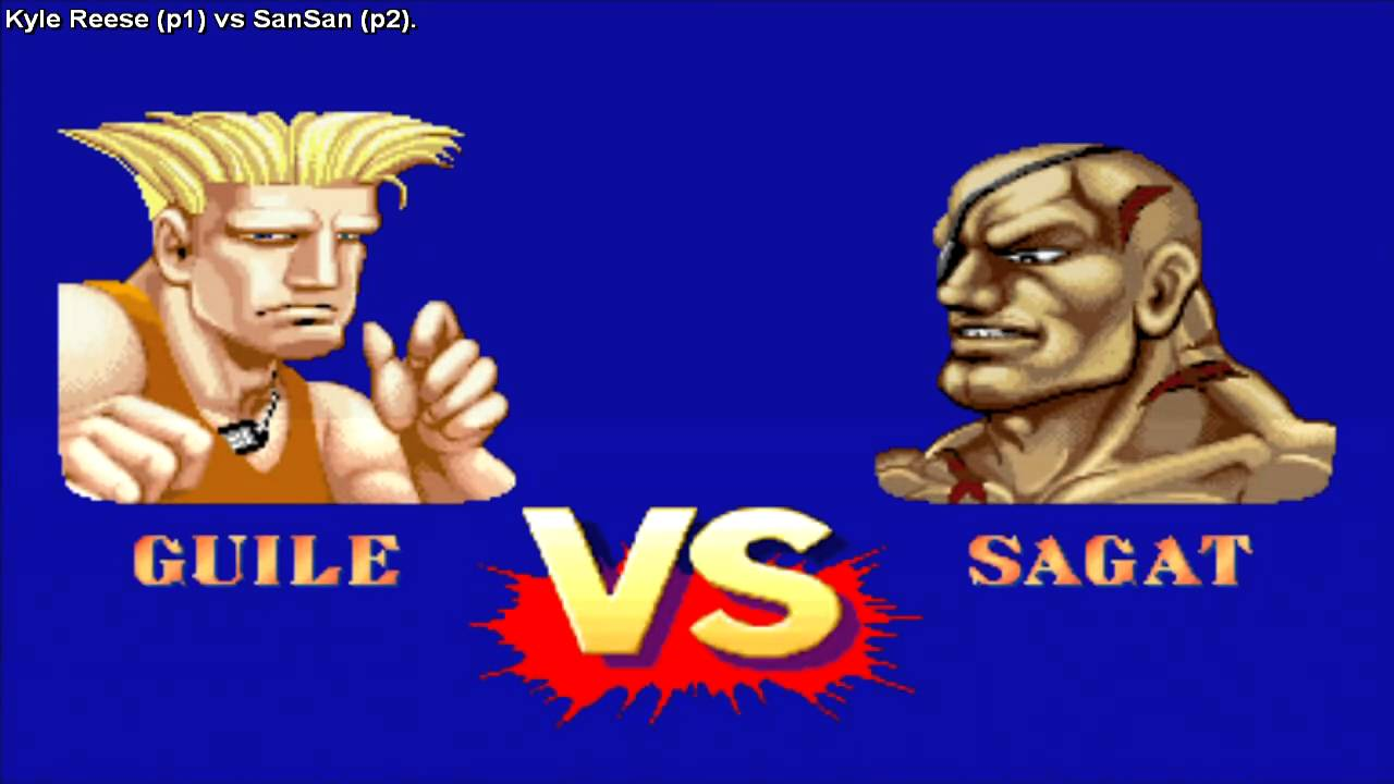 Street Fighter 2 Champion Edition Kyle Reese Usa Vs Sansan