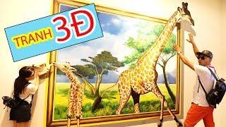 KHÁM PHÁ BẢO TÀNG TRANH 3D CÙNG BÉ BÚN và BÉ BẮP