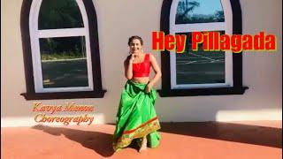 Hey Pillagada Mini Video // Kavya Menon Choreography