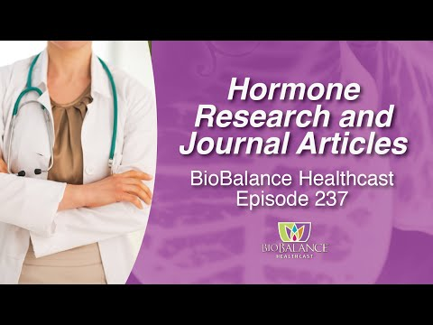 Hormone Research and Journal Articles